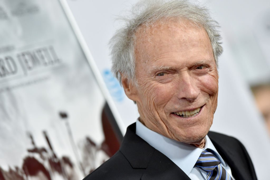 Clint Eastwood tout souriant. | Photo : Getty Images