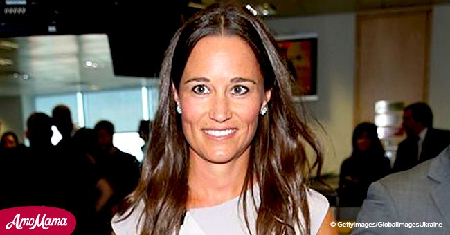 Pippa Middleton shows off her post-pregnancy body flaunting washboard abs in racy bikini