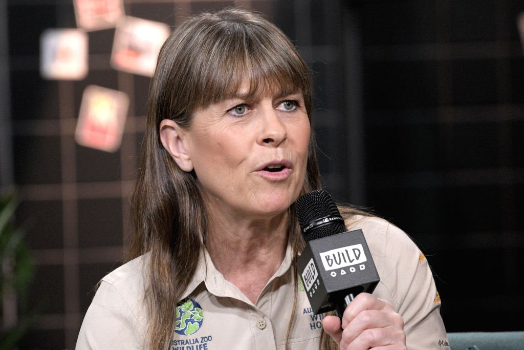 "Naturalist Terri Irwin visits the Build Series to discuss Steve Irwin Day and the 2nd season of ""Crikey: It's the Irwins"" at Build Studio on November 15, 2019 