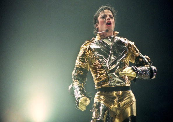 Michael Jackson at Ericsson Stadium in 1996 in Auckland, New Zealand | Photo: Getty Images