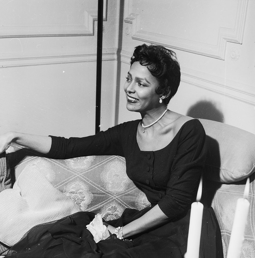 American singer and actress Dorothy Dandridge in London, 25th April 1956   Photo: Getty Images