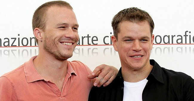 Matt Damon Honored Heath Ledger with Tattoo Designed by the Late Actor