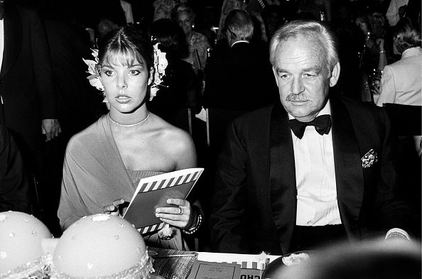 Caroline and Rainier, Red Cross Gala,1977. | Photo : Getty Images