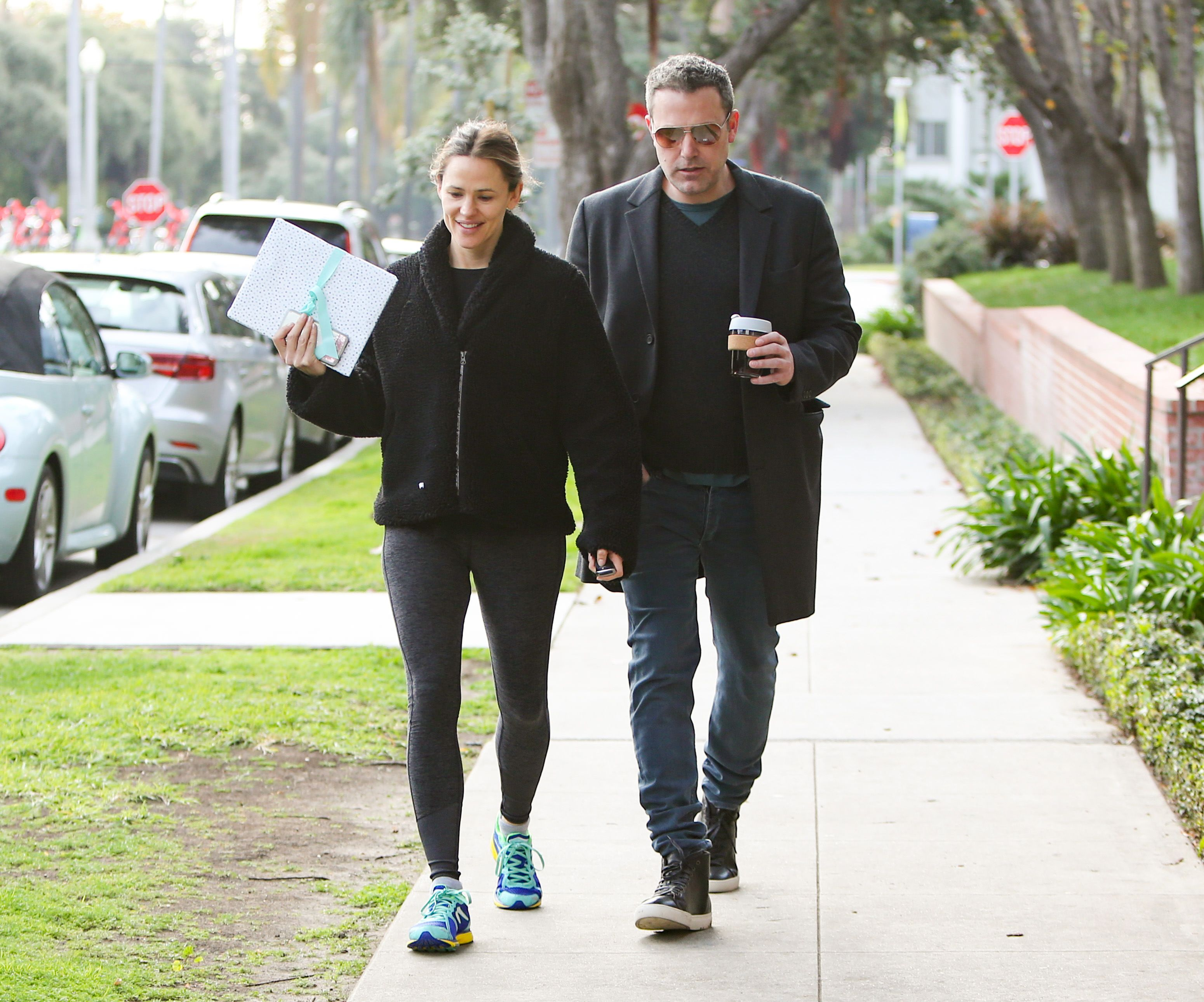 Jennifer Garner und Ben Affleck werden am 27. Februar 2019 in Los Angeles, Kalifornien, gesehen. | Quelle: Getty Images
