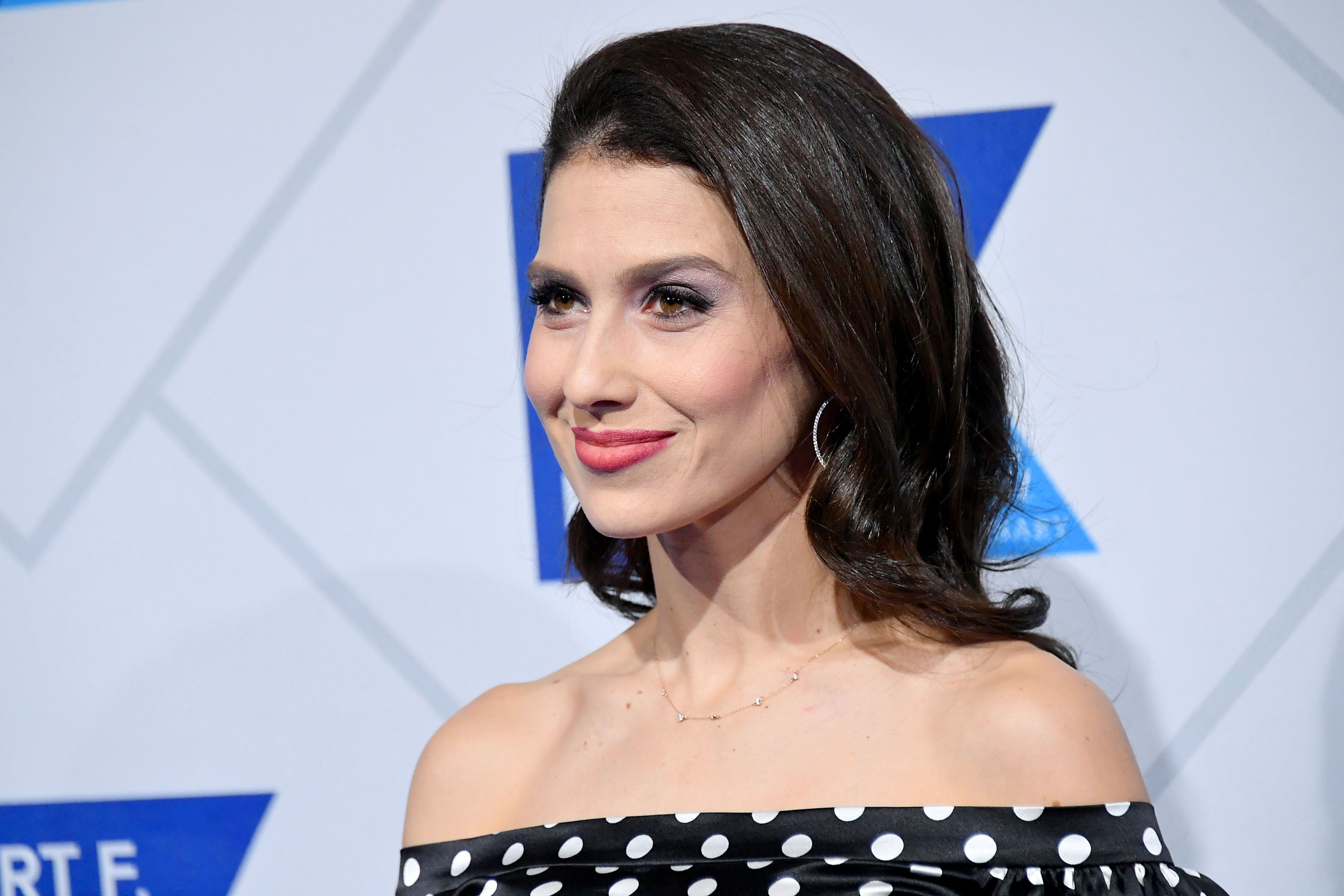 Hilaria Baldwin at the 2018 Robert F. Kennedy Human Rights' Ripple Of Hope Awards at New York Hilton Midtown on December 12, 2018 | Photo: Getty Images