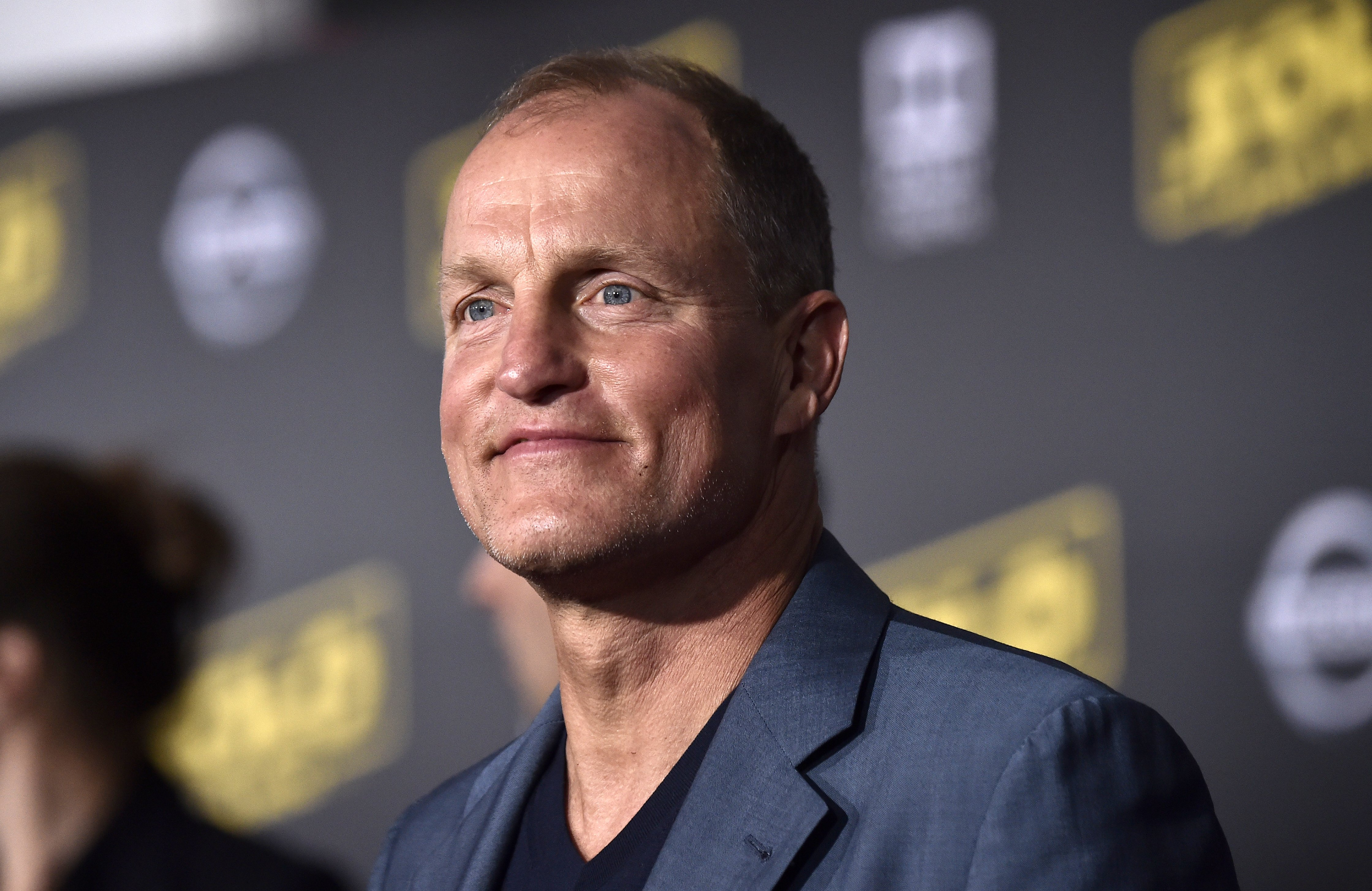 """Woody Harrelson pictured at the premiere of Disney Pictures and Lucasfilm's """"Solo: A Star Wars Story,"""" 2017, Los Angeles, California.   Photo: Getty Images"""