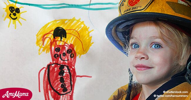 4-year-old girl wished she was a boy for only one reason - to become a firefighter