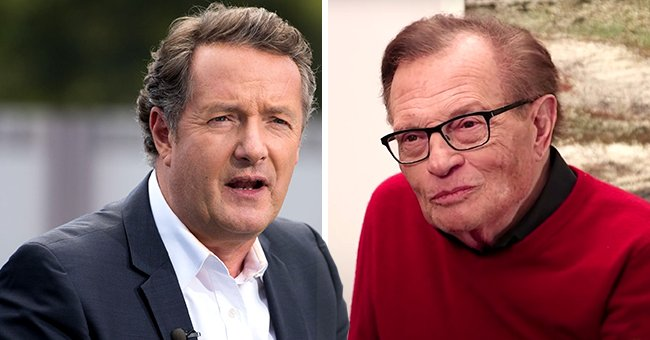 Larry King's Fans Slam Piers Morgan for Slanderous Remarks in His Tribute to the Late Anchor