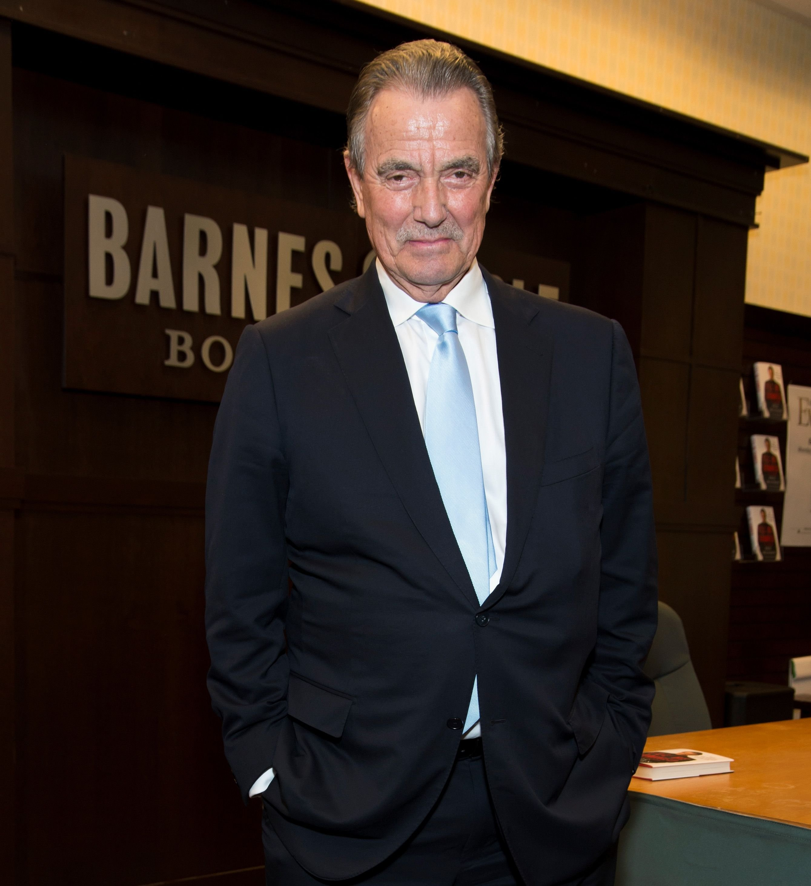 Eric Braeden at his book signing for 'I'll Be Damned: How My Young And Restless Life Led Me To America's #1 Daytime Drama' on February 13, 2017. | Photo: Getty Images
