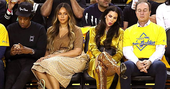 Nicole Curran Reacts after Beyhive Hounds Her Following Beyoncé Courtside Incident