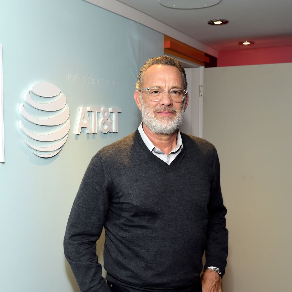 Tom Hanks stops by AT&T ON LOCATION during Toronto International Film Festival 2019 at Hotel Le Germain. | Photo: Getty Images