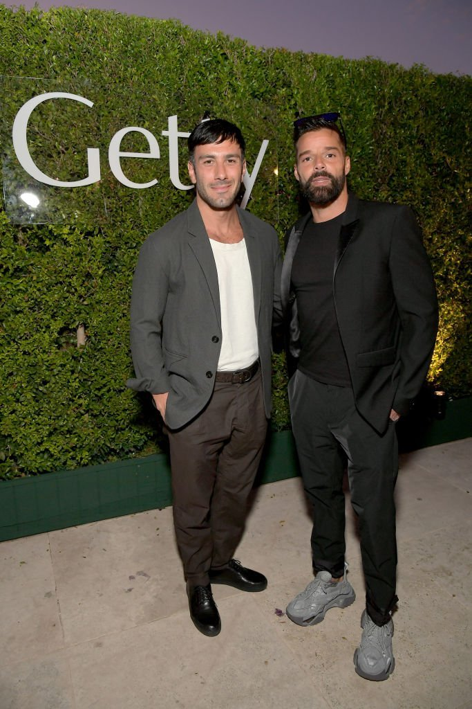 "Jwan Yosef y Ricky Martin asisten a ""The J. Paul Getty Medal Dinner 2019"".