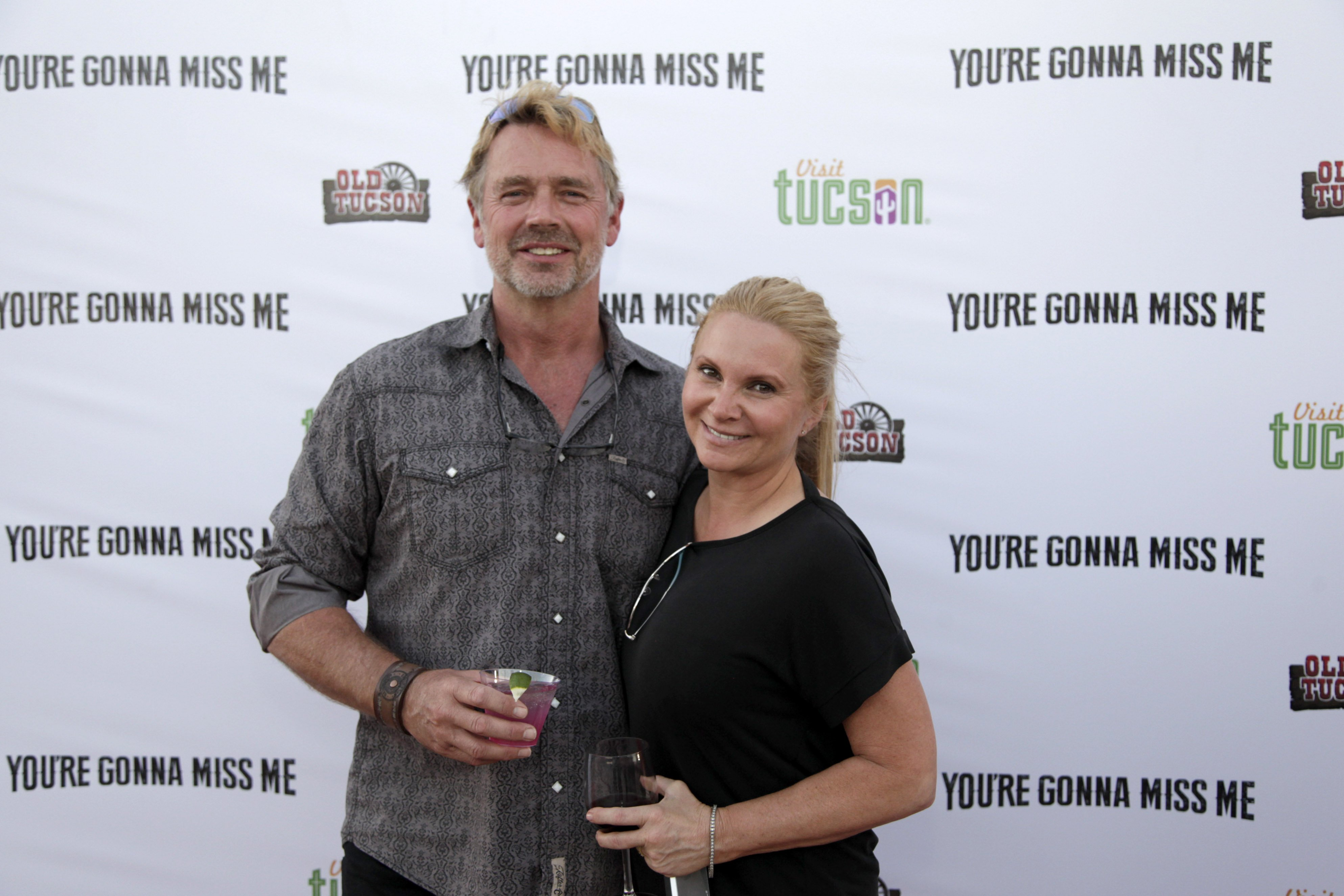 """John Schneider and Alicia Allain attend """"You're Gonna Miss Me"""" premiere sponsored by Visit Tucson on May 13, 2017 