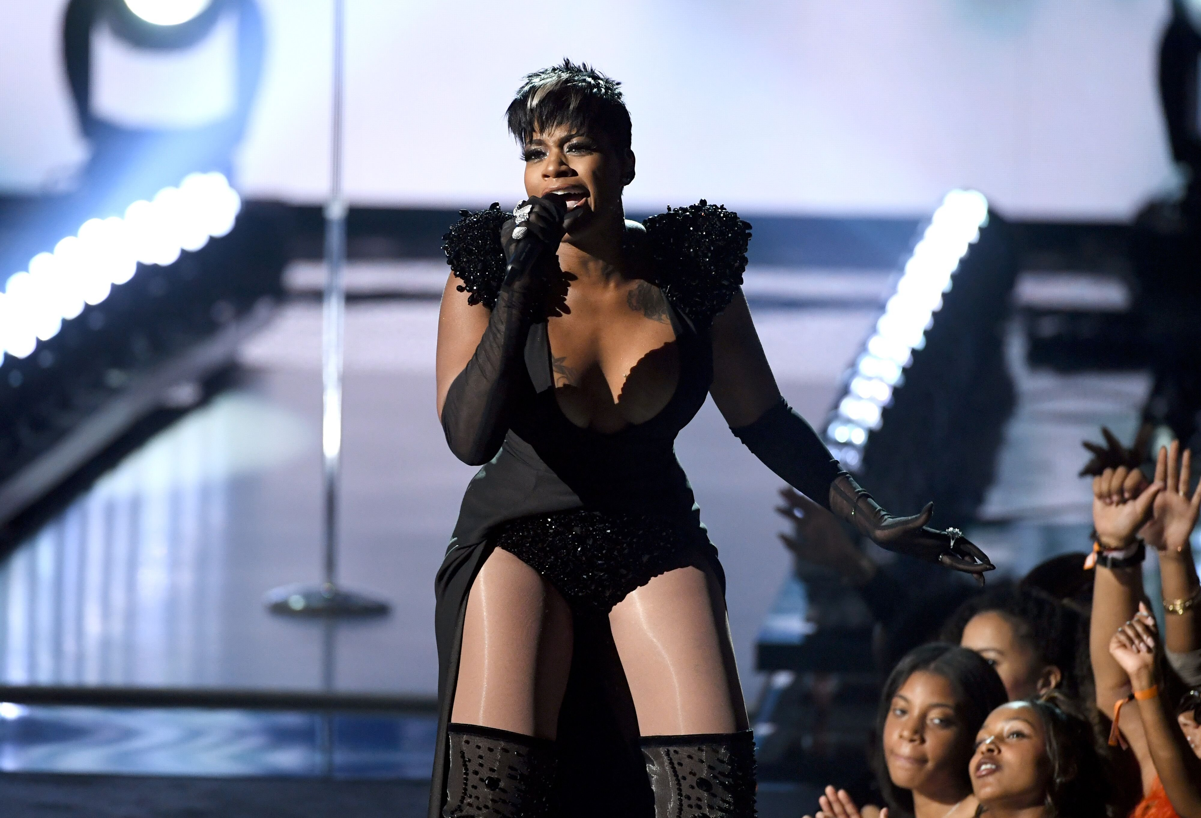 Fantasia Barrino performing at the at the 2019 BET Awards/ Source: Getty Images