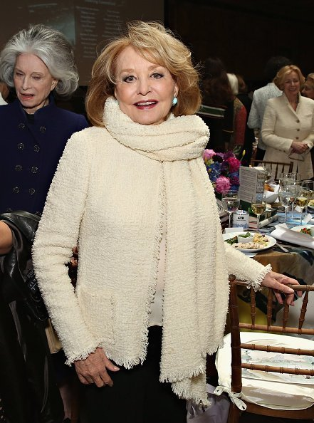 Barbara Walters at The New York Public Library - Stephen A. Schwarzman Building on April 13, 2016 in New York City | Photo: Getty Images