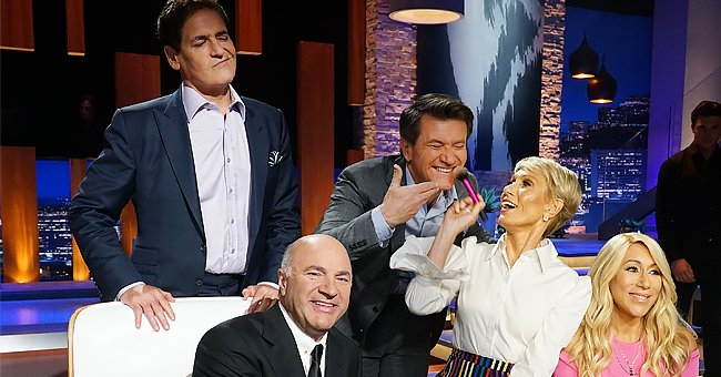 See Robert Herjavec's New Photo That Captures Most of the Shark Tank Crew Posing Together