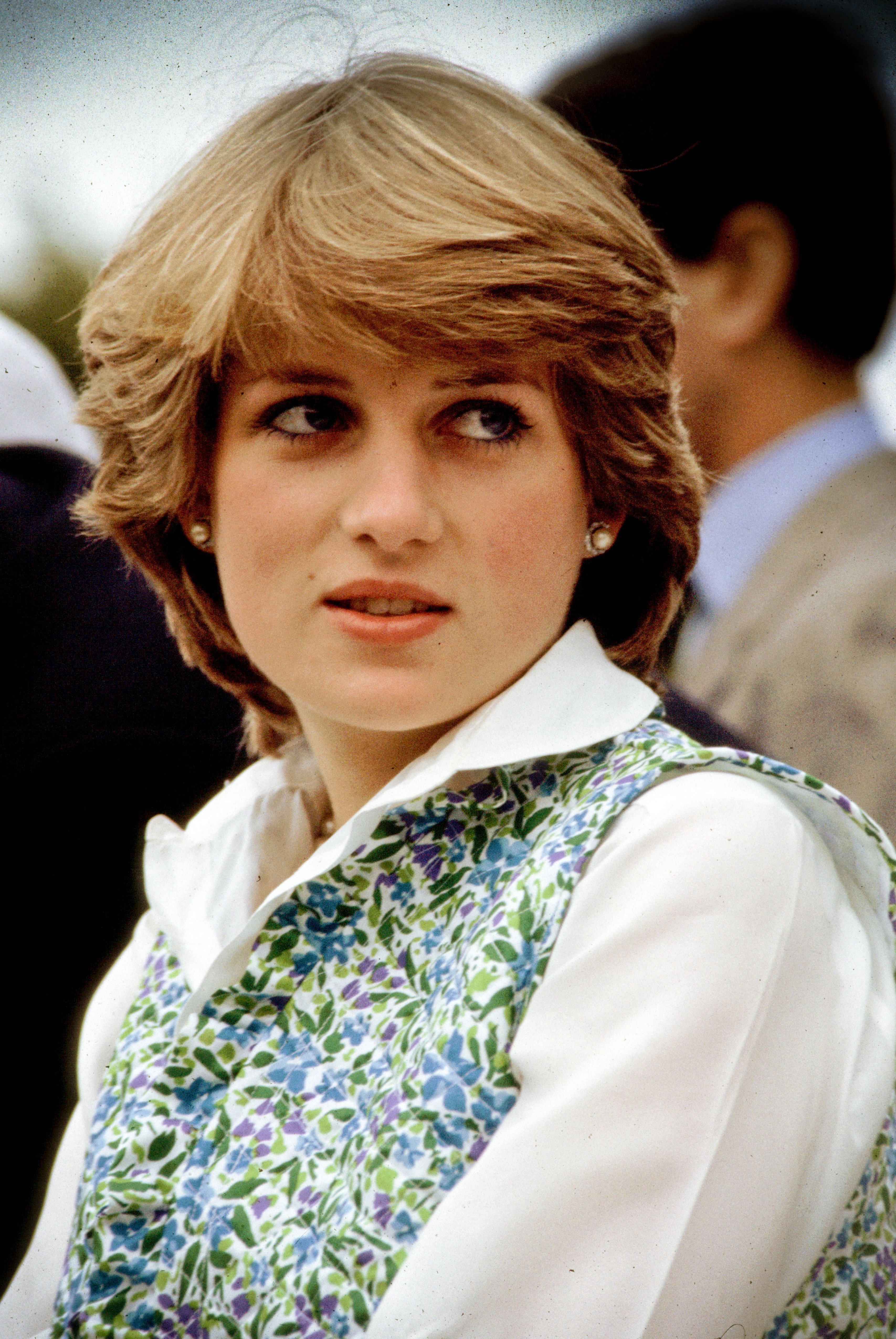 Lady Diana Spencer at a polo match in Hampshire, 1981. | Source: Getty Images.