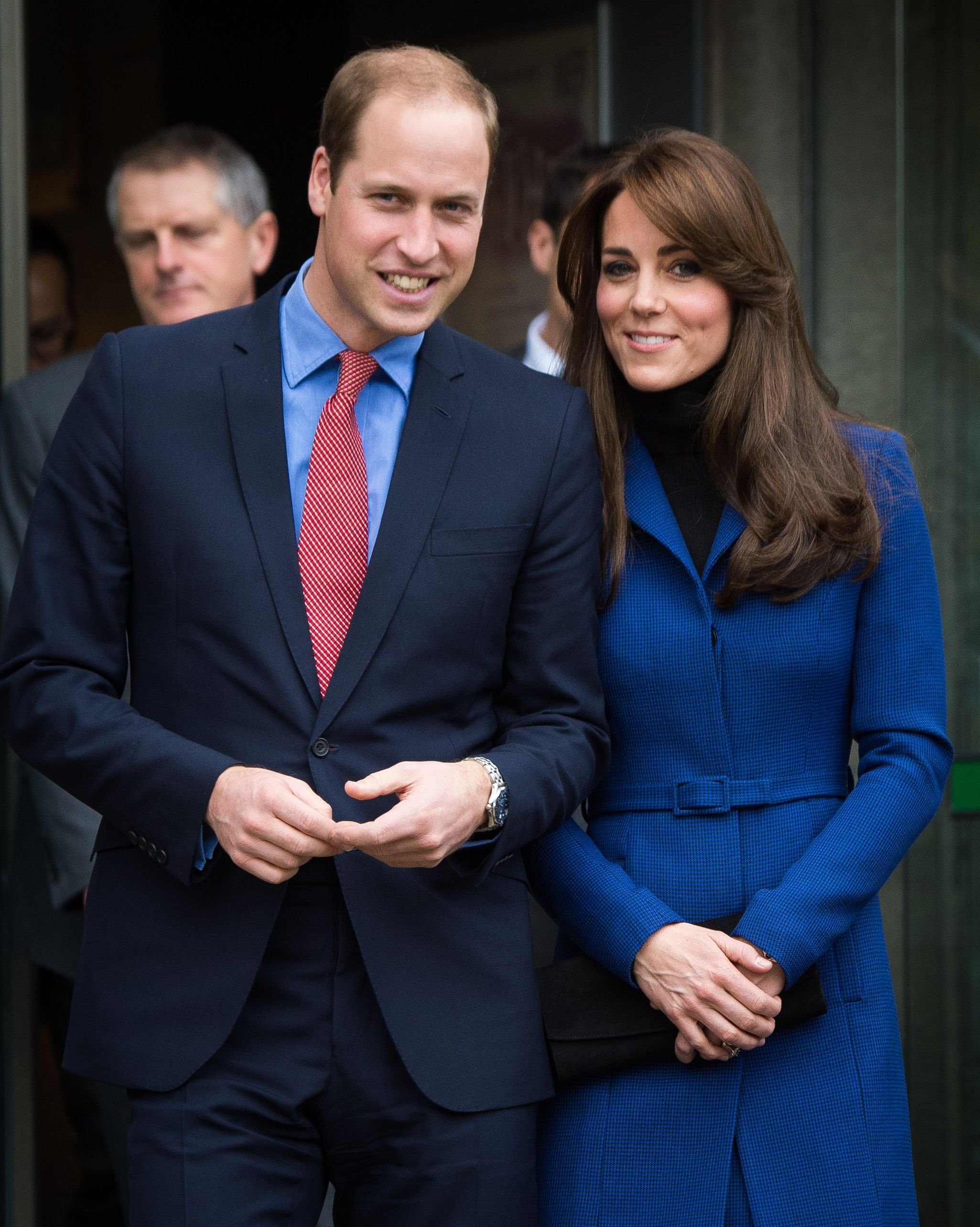 Duchess Kate and Prince William visit Dundee Rep. Theatre on October 23, 2015, in Dundee, Scotland   Photo: Samir Hussein/WireImage/Getty Images