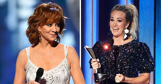 Reba McEntire Congratulates Carrie Underwood on Winning Entertainer of the Year at ACM Awards