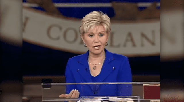 "Gloria Copeland speaking about ""Faith Sees The Invisible"" in December 2017 