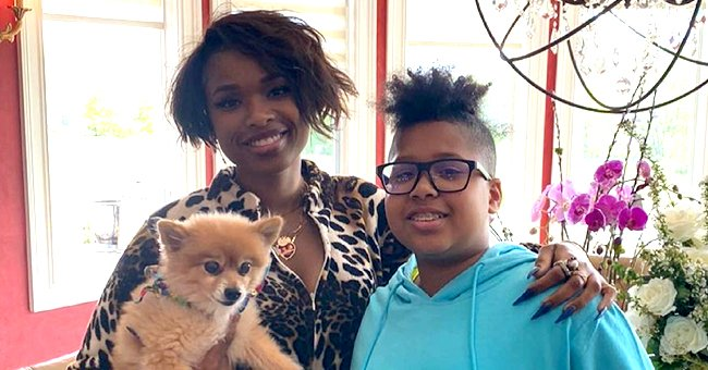 Jennifer Hudson's Son David Builds up Strength as He Lifts Weights at the Gym with His Dad
