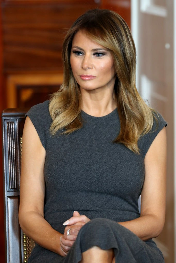Melania Trump, rencontre des enfants adolescents à la Maison-Blanche | Photo: Getty Images