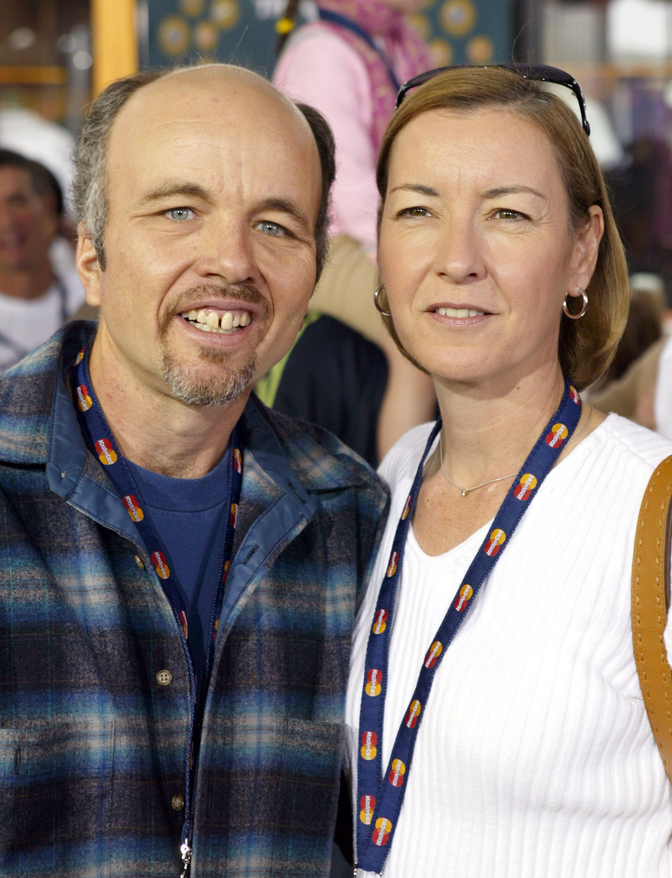 """Clint Howard and ex-wife Melanie at the world premiere of """"Dr. Seuss' The Cat in the Hat"""" at Universal Studios   Photo: Getty Images"""