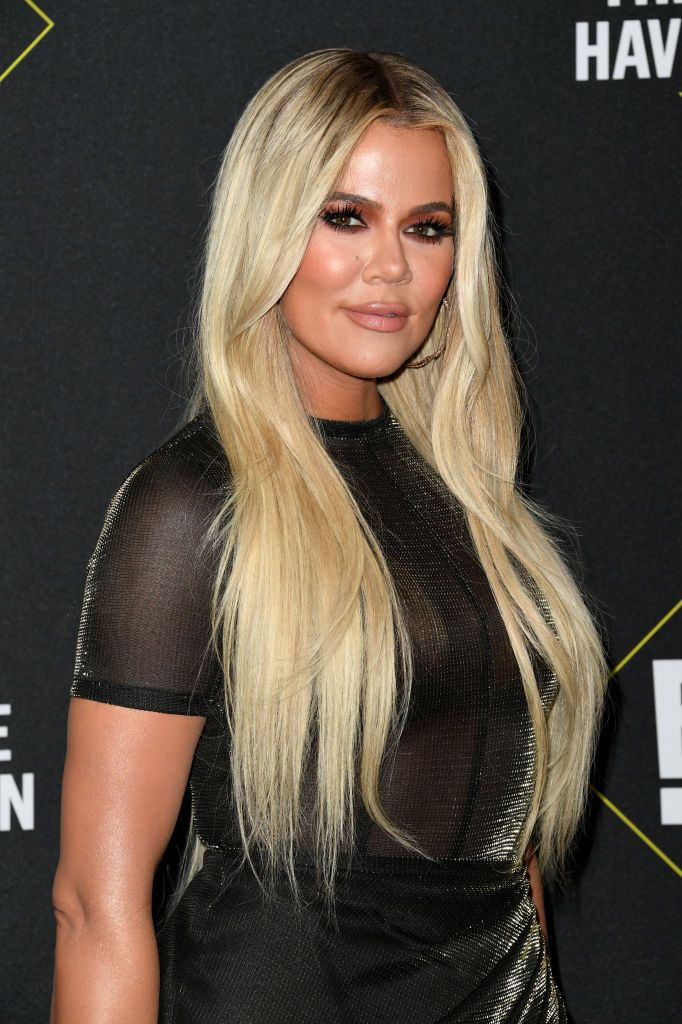 Khloé Kardashian at the 2019 E! People's Choice Awards on November 10, 2019 in Santa Monica | Getty Images