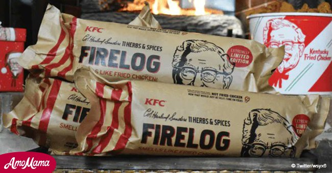 KFC launches a log with a fried chicken scent
