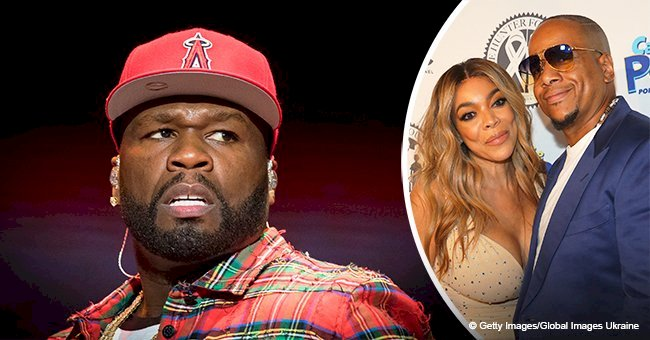 50 cent drags Wendy Williams because of rumors about her divorce with husband