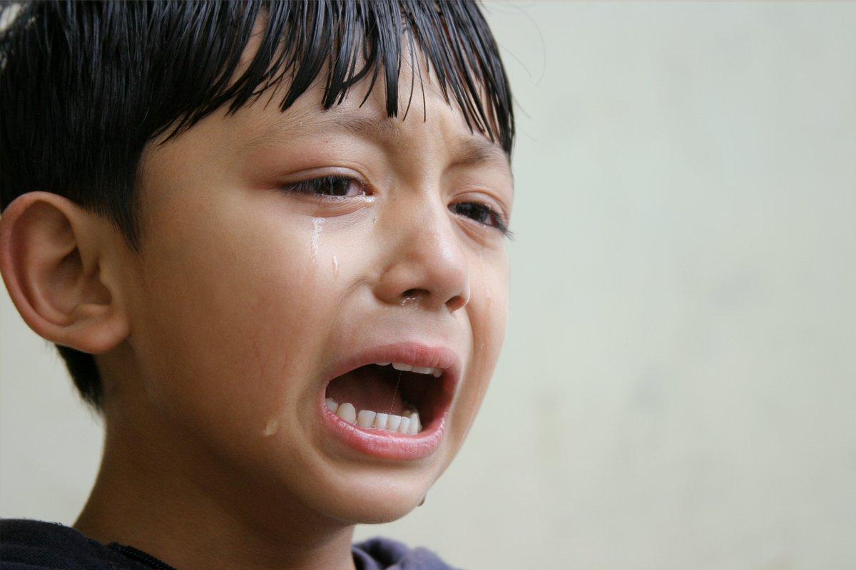 Niño llorando. | Imagen: Flickr