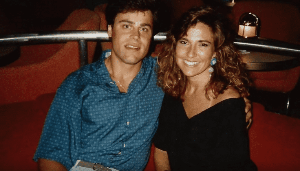 Judge Marilyn Milian and her husband Judge John Schlesinger, circa 1990s. | Photo: YouTube/Peoples Court