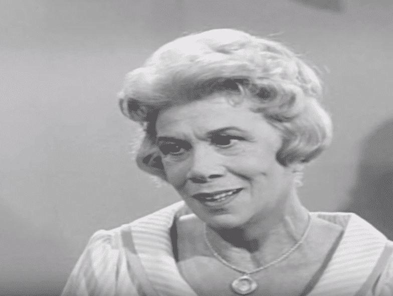 """Bea Benaderet as Kate Bradley on the hit sitcom """"Petticoat Junction,"""" circa 1960s. 