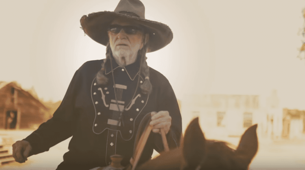 Willie Nelson at Luck Ranch in Spicewood, Texas   Photo: YouTube/WillieNelson