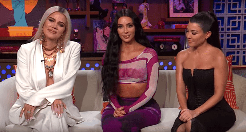 """Kim, Khloe, and Kourtney Kardashian touched on their past experimentation with drugs during the interview with """"Watch What Happens Live"""" host, Andy Cohen. 