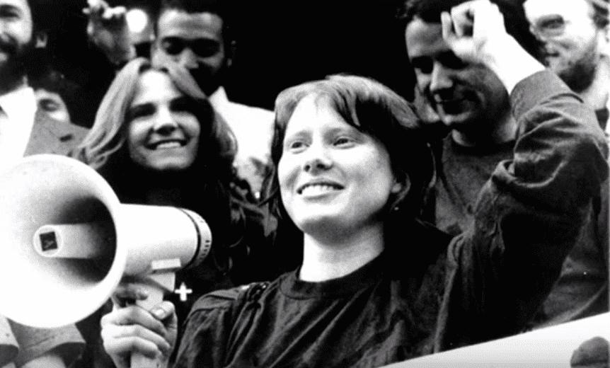 Amy Carter, a political activist in the '80s and '90s | Photo: YouTube/Magdalenkaization
