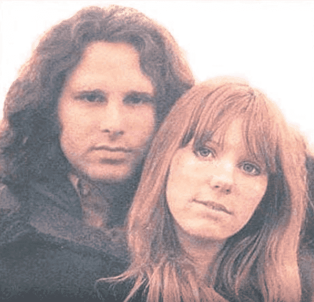 Jim Morrison and Pamela Courson, circa 1970s | Photo: YouTube/Tiffany Eileen Bankes