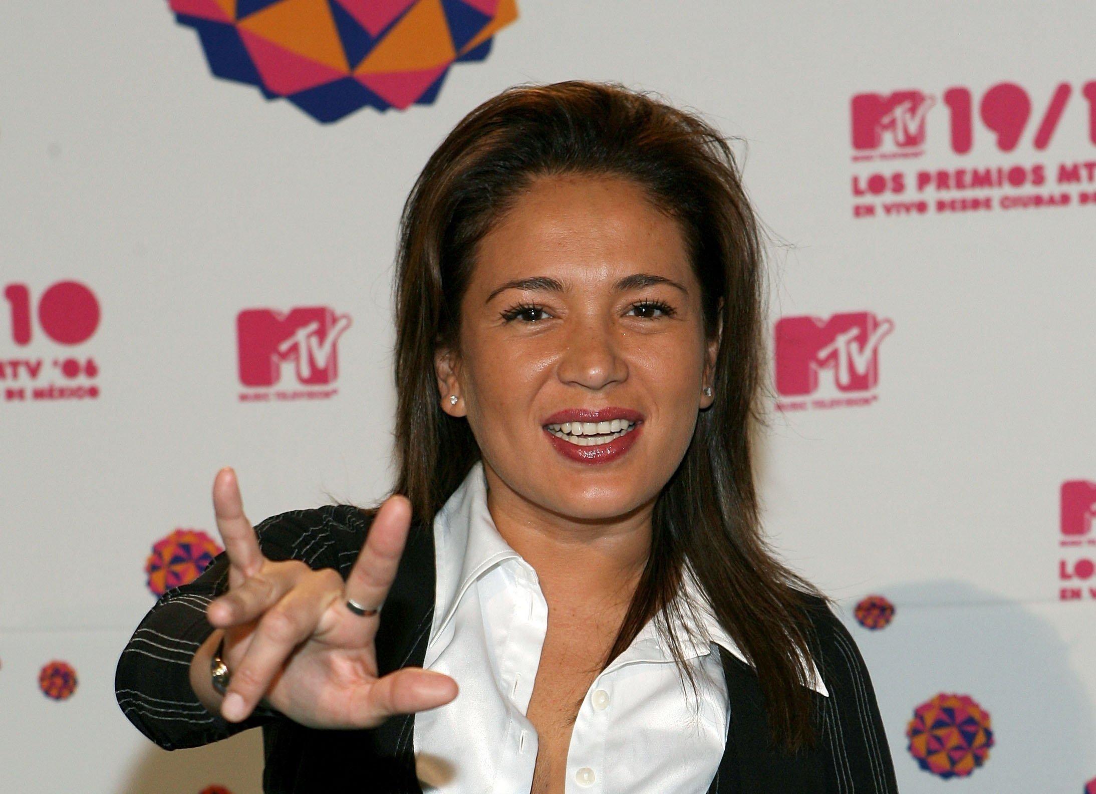Yolanda Andrade asiste a los Premios MTV Latino América 2006 en el Palacio De Los Deportes en octubre de 2006 en Ciudad de México || Fuente: Getty Images