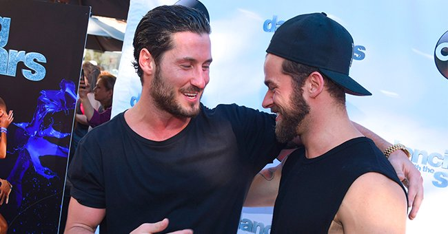 How Val Chmerkovskiy Congratulated Fellow Dancer Artem Chigvintsev on His 1st Mirrorball Win