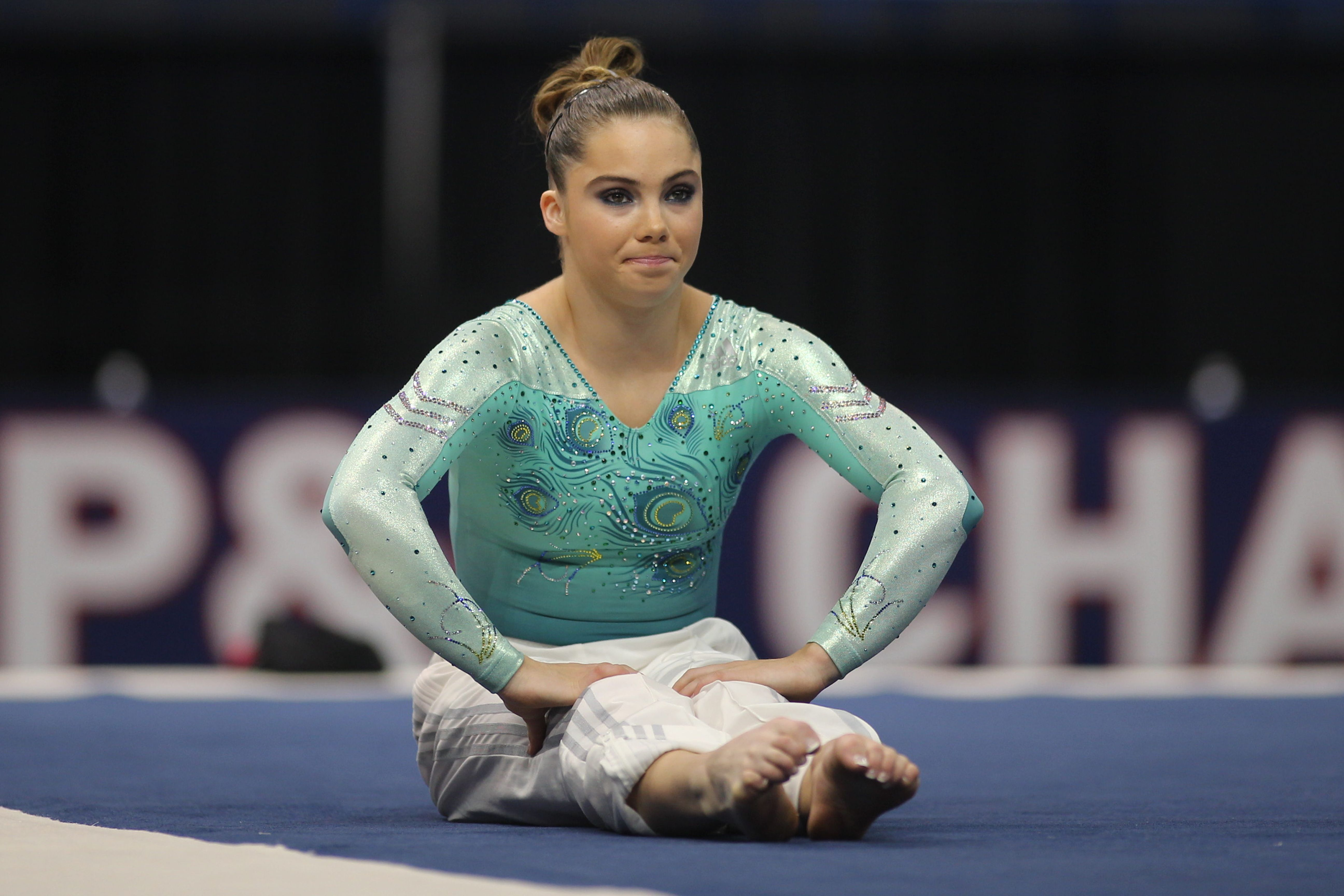 McKayla Maroney during the Senior Women Competition at The 2013 P&G Gymnastics on 15th August 2013   Photo: Getty Images