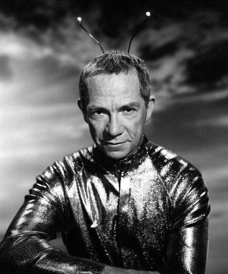 """Ray Walston as Uncle Martin from the television program """"My Favorite Martian,"""" circa 1960s. 