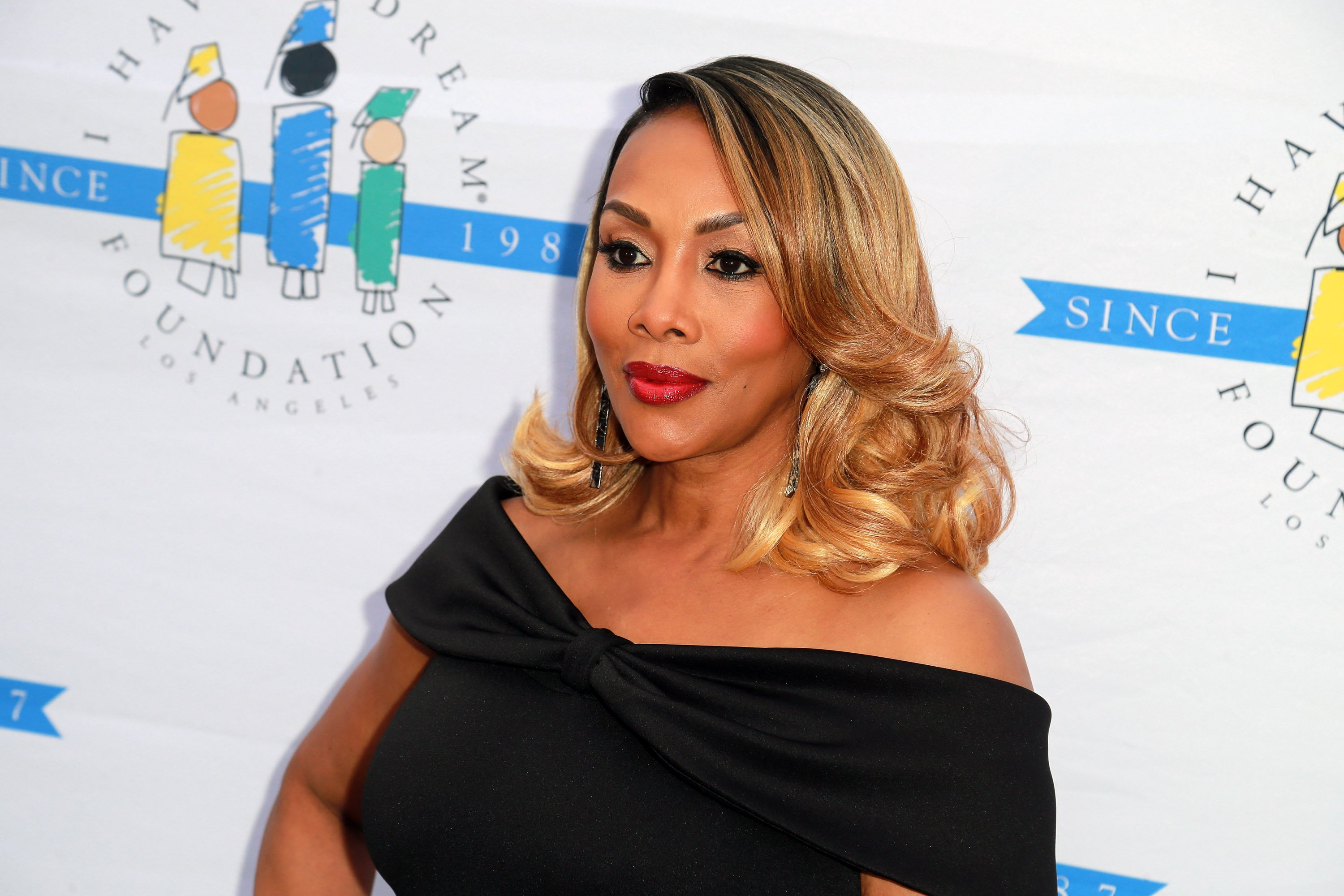 """Vivica A. Fox at the """"I Have A Dream"""" Foundation's 5th Annual Los Angeles' Dreamer Dinner in 2018   Source: Getty Images"""
