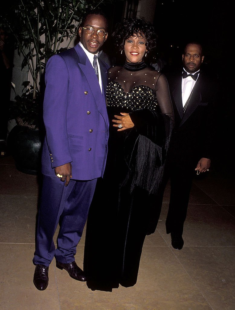 Bobby Brown and Whitney Houston at the Carousel of Hope Ball to Benefit the Barbara Davis Center for Childhood Diabetes on October 2, 1992 at Beverly Hills   Photo: Getty Images