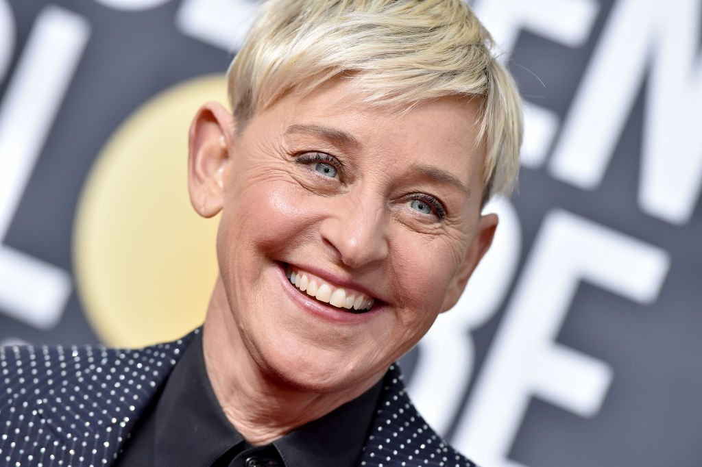 Ellen DeGeneres pictured at the 77th Annual Golden Globe Awards at The Beverly Hilton Hotel, 2020, California. | Photo: Getty Images