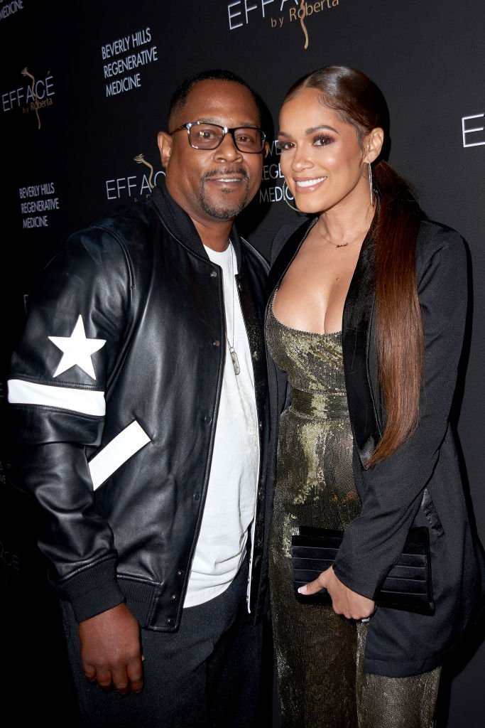 Martin Lawrence with fiancé Roberta Moradfar attend the grand opening of Roberta Moradfar's Efface Aesthetics at Efface By Roberta on December 12, 2019. | Photo: Getty Images