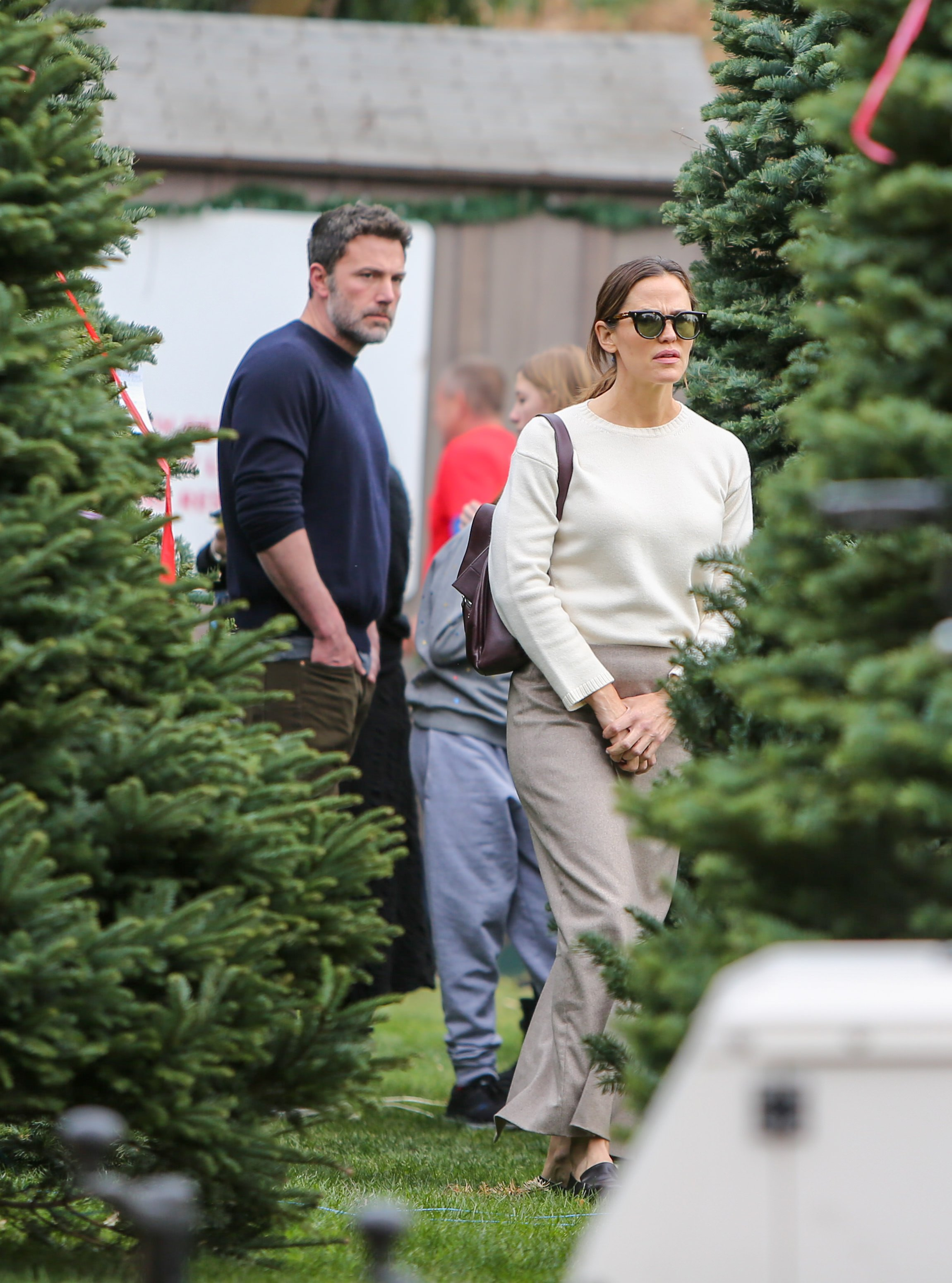 Ben Affleck and Jennifer Garner are seen on November 30, 2019 in Los Angeles, California. | Source: Getty Images.