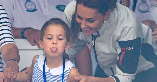 Prince William Reportedly Says Daughter Princess Charlotte, Looks like Trouble