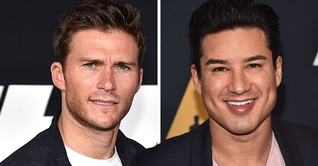 Scott Eastwood & Mario Lopez Show Off Their Washboard Abs after a Few Rounds of Boxing
