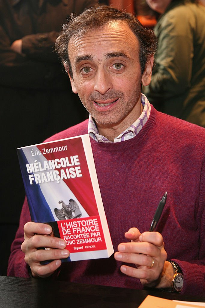 Le journaliste Éric Zemmour. l Source : Getty Images