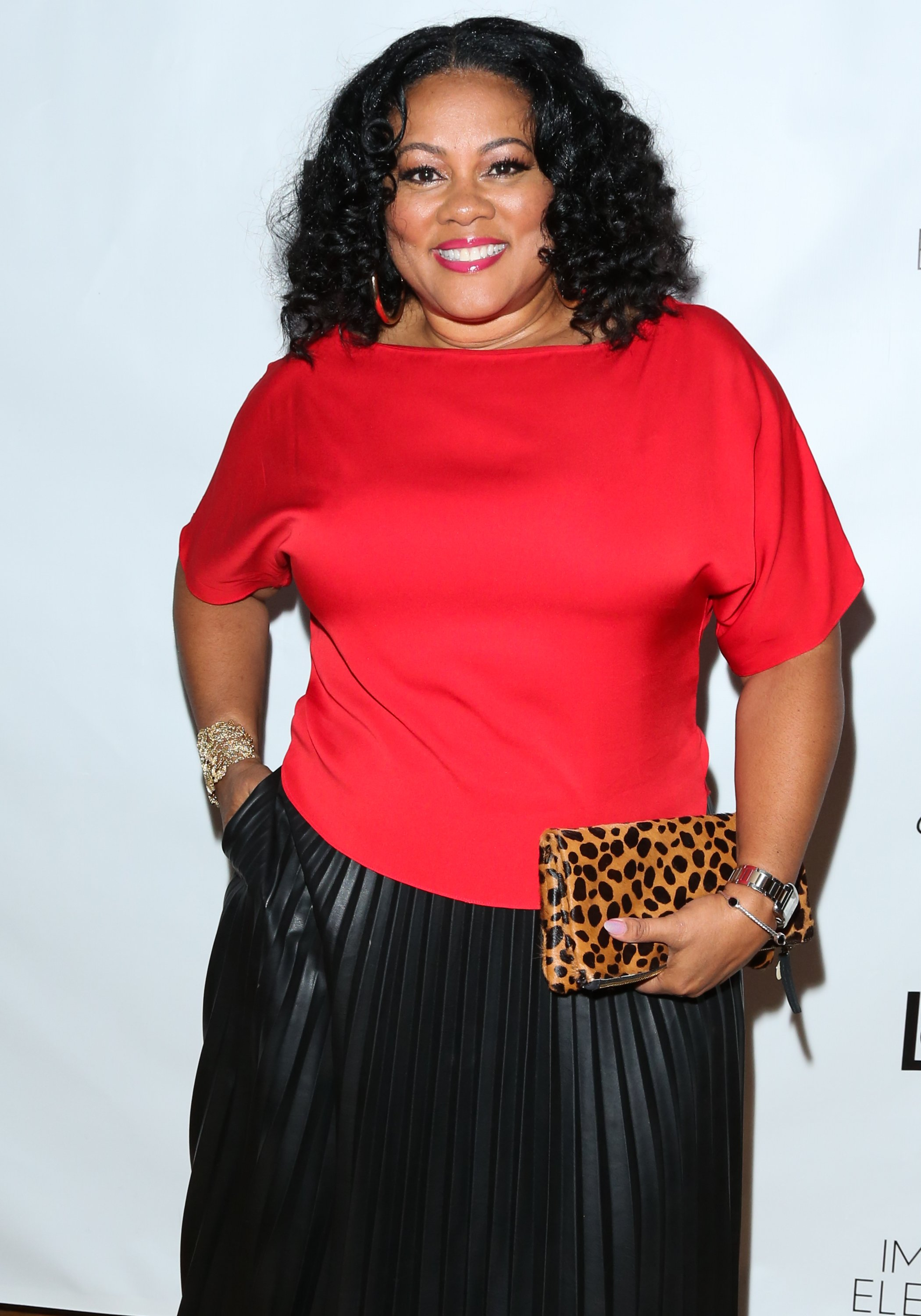 "Lela Rochon attends the release party for Vivica A. Fox's new book ""Every Day I'm Hustling"" at Rain Bar and Lounge on April 8, 2018. 